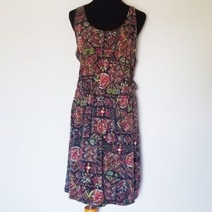 Patagonia Organic Cotton Worn Wear Patterned Dress